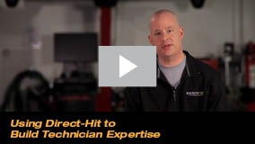 Using Direct-Hit to Build Technician Expertise