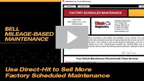 Use Direct-Hit to Sell More Factory Scheduled Maintenance